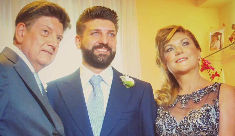 Trucco Trucco mamma e papà dello sposo