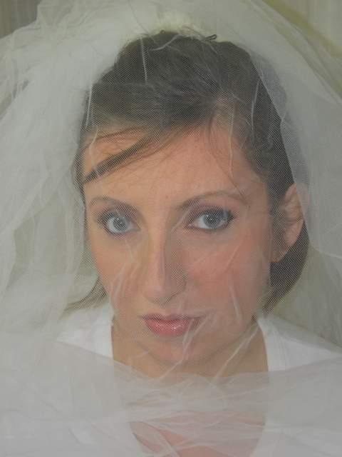 Trucco Trucco sposa con velo